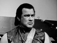 Steven Seagal knows his role. (Photo: Wikidpedia.)