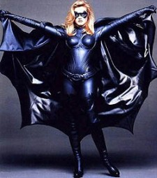 Alicia Silverstone as Batgirl, confirming her inability to act.