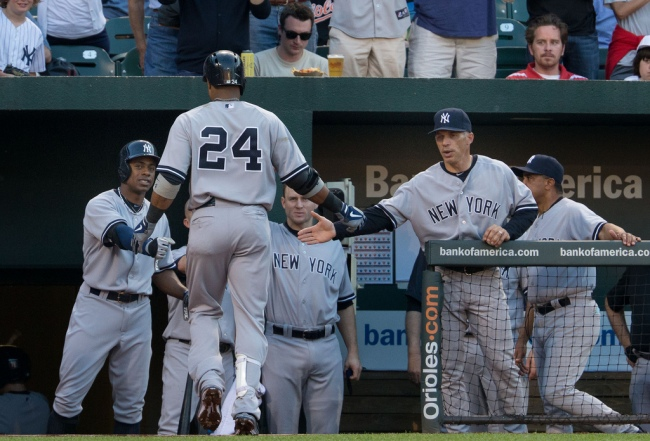The Yankee offense appears to be headed in the wrong direction.  (Photo by Keith Allison)