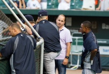 Brian Cashman.  (Photo by Keith Allison via Flickr)