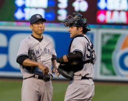Hiroki Kuroda has been the Yankees' MVP.   (Photo courtesy of Keith Allison via Flickr).
