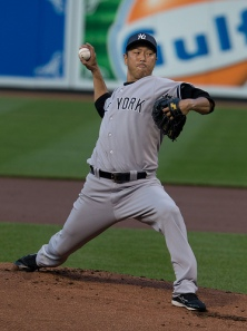 Hiroki Kuroda has been the Yankees' MVP.  (Photo courtesy of Keith Allison via Flickr).
